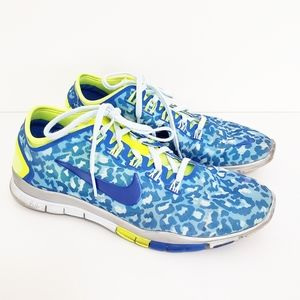 NIKE Free TR Connect Cheetah Shoes Sneakers